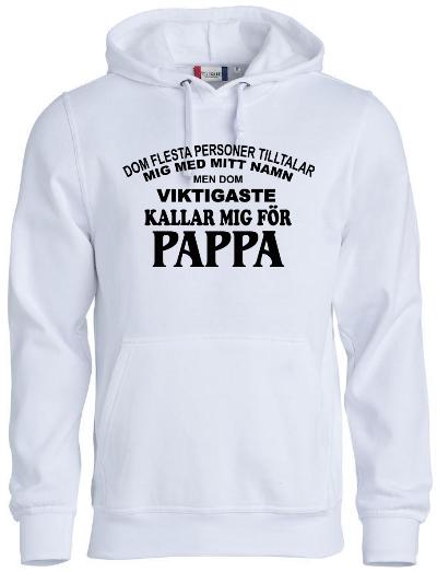 "Hoodtröja ""Pappa"""