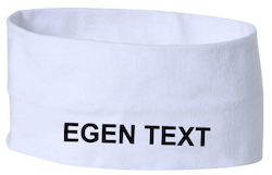 Headband med egen text