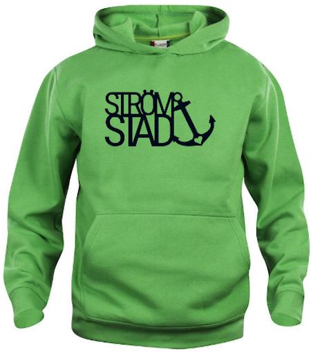 "Junior Hoodtröja Basic ""Strömstad"""
