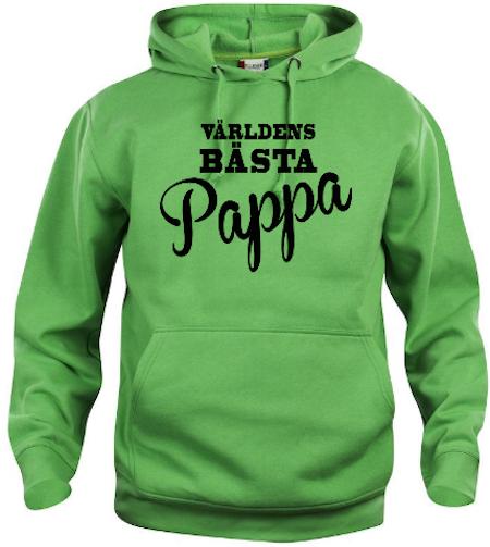 """Hoodtröja Basic """"Världens Bästa Pappa.."""""""