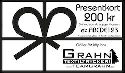 Presentkort 200 kr