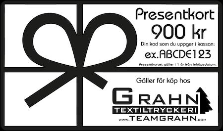 Presentkort 900 kr