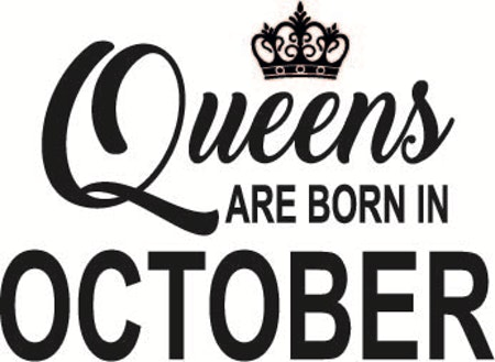 139. Queens Are Born in OCTOBER