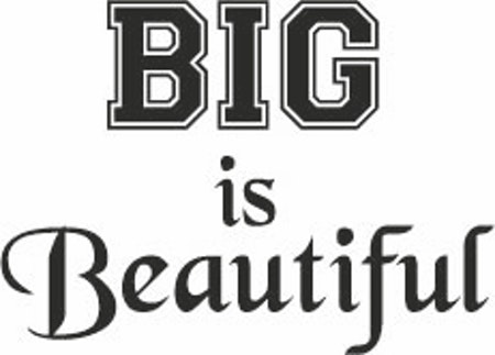 142. BIG is Beautiful