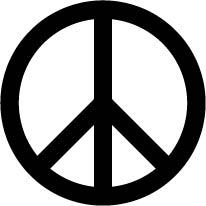 331. Peace symbol
