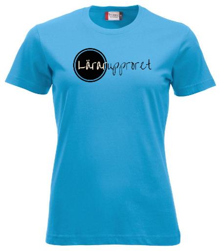 """Dam T-shirt """"Lärarupproret!"""""""