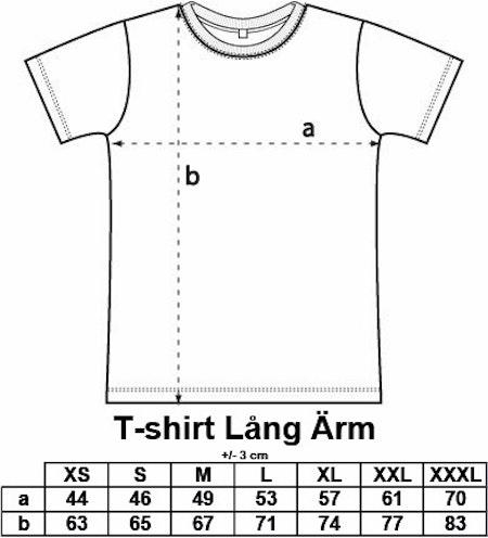 """T-shirt Lång ärm """"Förskoleupproret!"""""""