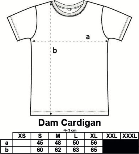 Dam Cardigan Basic