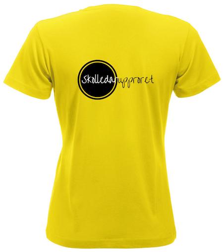 """Dam T-shirt """"Skolledarupproret"""""""