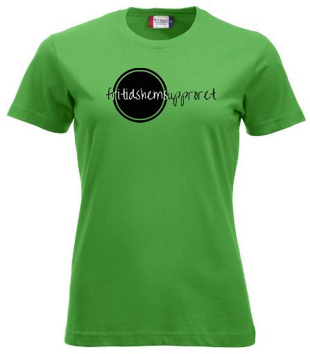 """Dam T-shirt """"Fritidshemsupproret"""""""
