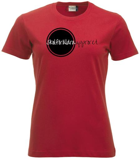 "Dam T-shirt ""Skolföräldraupproret"""