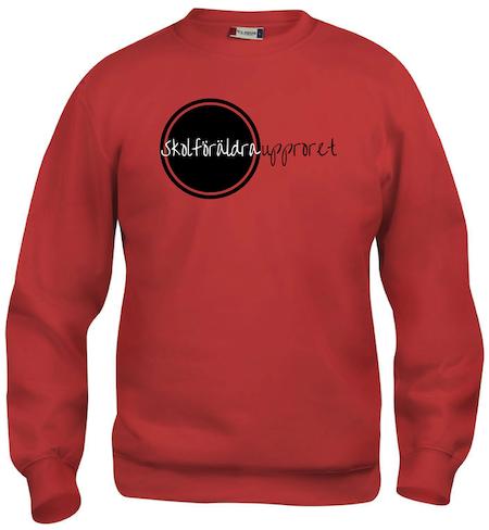"""Sweatshirt """"Skolföräldraupproret"""""""