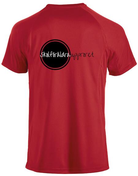 "Active T-shirt ""Skolföräldraupproret"""