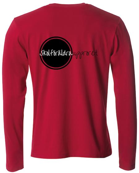 """T-shirt Lång ärm """"Skolföräldraupproret"""""""