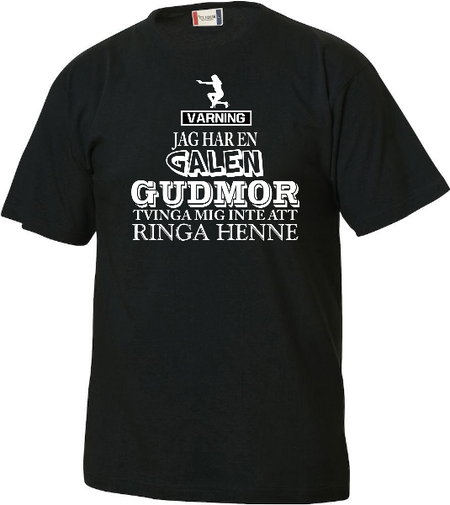 "Junior T-shirt Basic ""Galen Gudmor"""