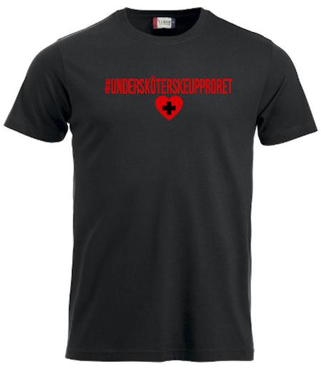 """T-shirt """"Undersköterskeupproret"""""""