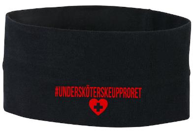 "Headband ""Undersköterskeupproret"""