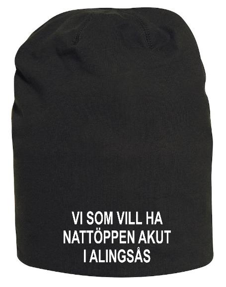 "Mössa ""Nattöppen Akut Alingsås"""