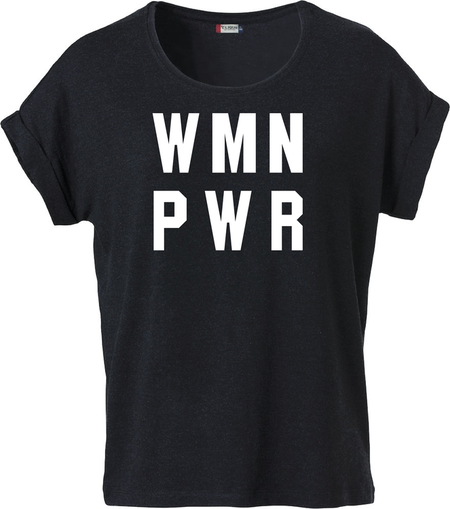 "Dam T-shirt Katy ""WMN PWR"""