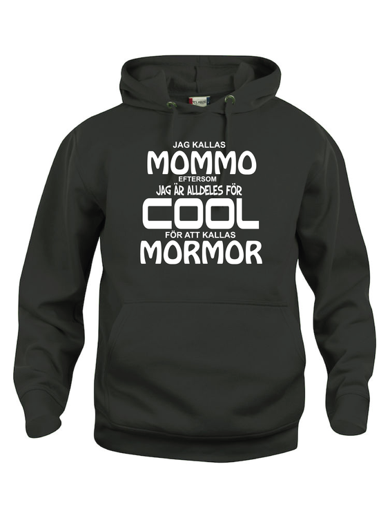 "Hoodtröja Basic ""COOL MOMMO"""