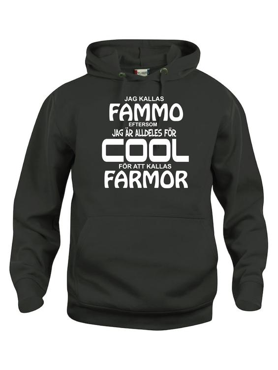 """Hoodtröja Basic """"COOL FAMMO"""""""
