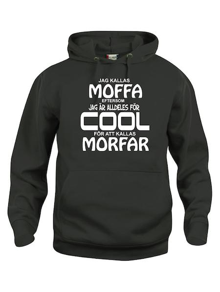 "Hoodtröja Basic ""COOL MOFFA"""