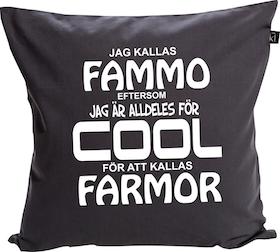 "Kuddfodral ""COOL FAMMO"""