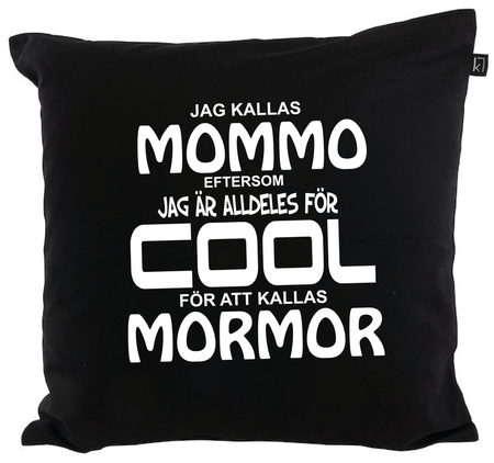 "Kuddfodral ""COOL MOMMO"""