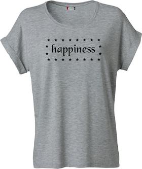 "Dam T-shirt Katy ""HAPPINESS"""