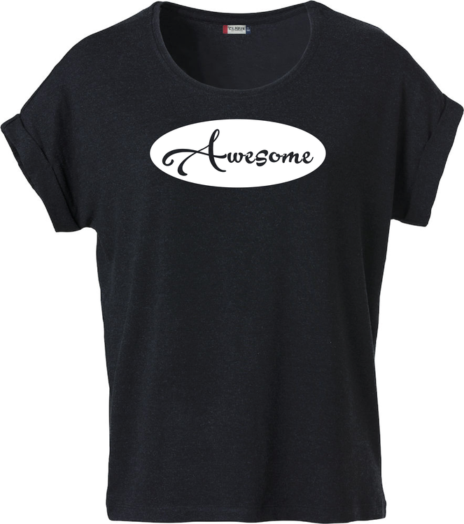 "Dam T-shirt Katy ""AWESOME"""