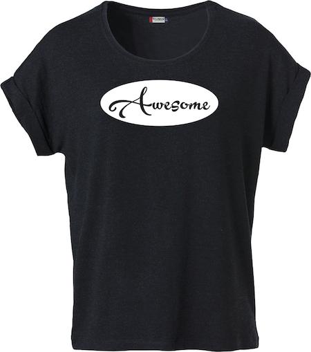 "Dam T-shirt Katy ""AWESOME"""