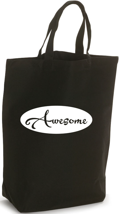 "Bomullsbag ""AWESOME"""