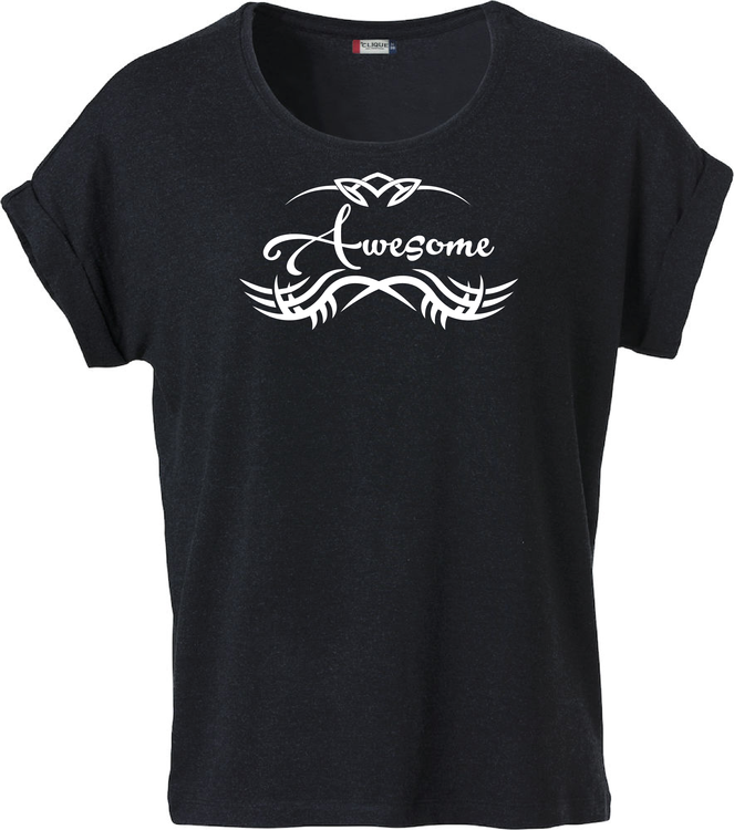 "Dam T-shirt Katy ""AWESOME TRIBUAL"""