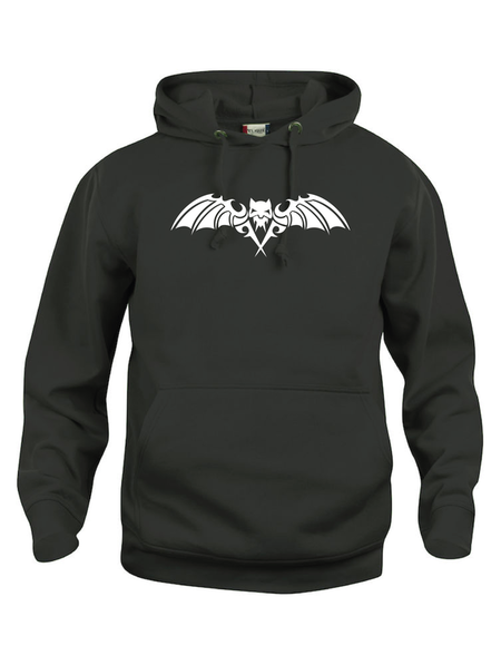 "Hoodtröja Basic ""SCARY BAT"""