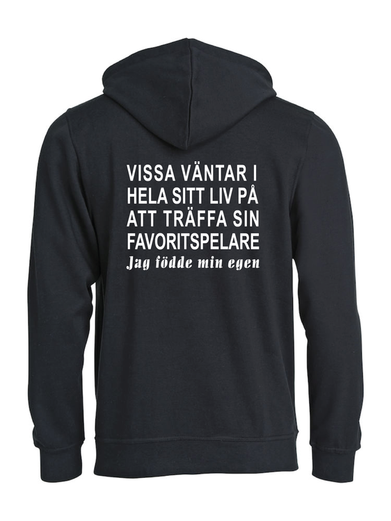 "Hoodtröja Basic ""HOCKEY MORSA"""