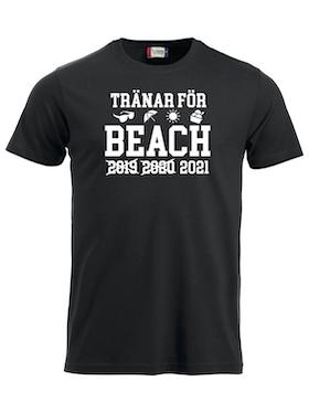 "T-shirt Classic ""TRÄNAR INFÖR BEACH X X 2021"""