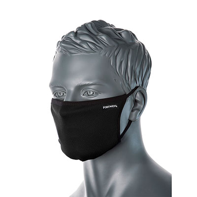 Svart Ansiktsmask