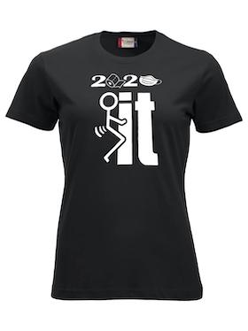 "Dam T-shirt Classic ""2020 F_CK IT"""