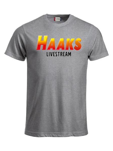 """T-shirt Classic """"HAAKS LIVESTREAM"""""""