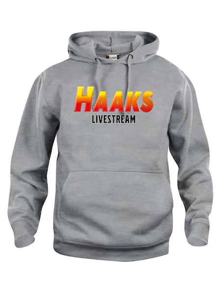 """Hoodtröja Basic """"HAAKS Livestream"""""""
