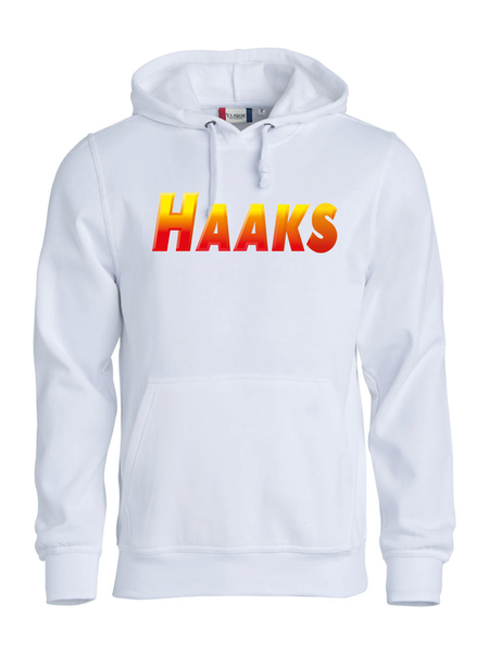 """Hoodtröja Basic """"HAAKS"""""""