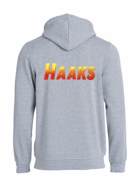 """Hoodjacka """"HAAKS"""" Rygg"""