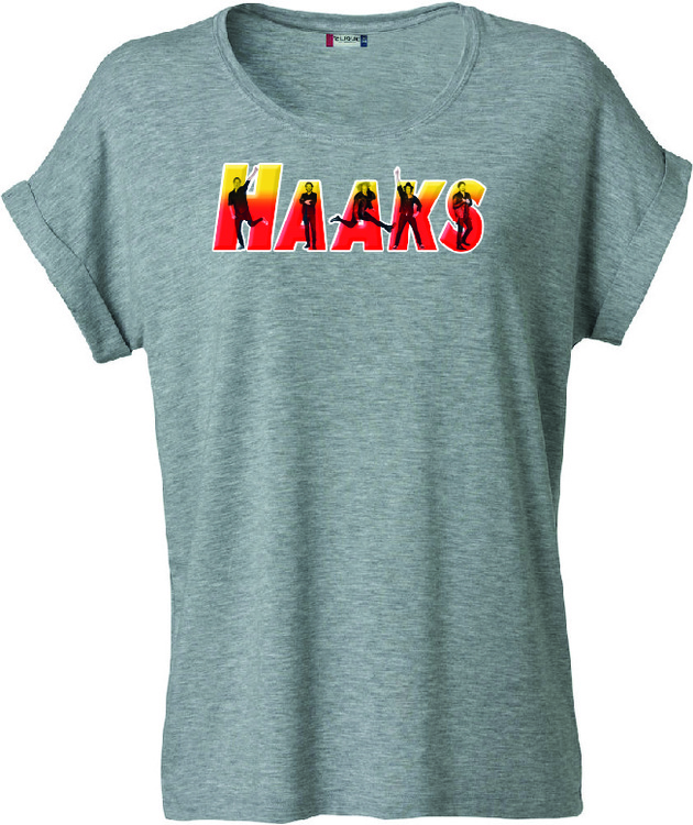 "Dam T-shirt Katy ""HAAKS Members"""