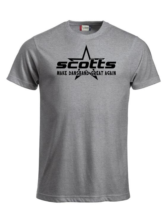 """Grå T-shirt Classic """"SCOTTS"""""""