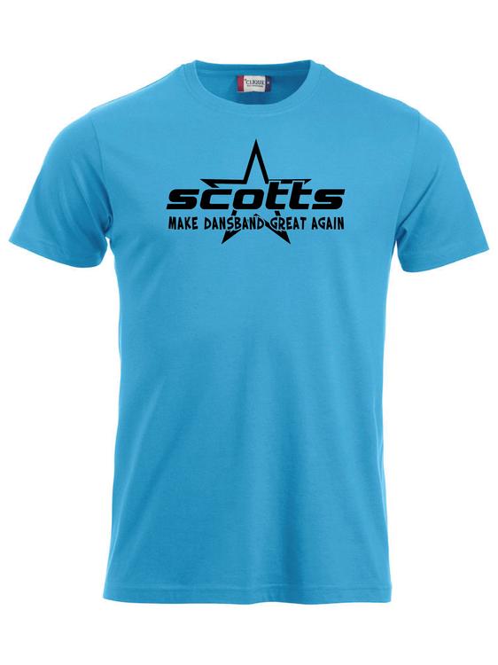 "Turkos T-shirt Classic ""SCOTTS"""