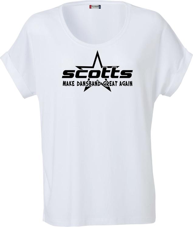 "Vit Dam T-shirt Katy ""SCOTTS"""