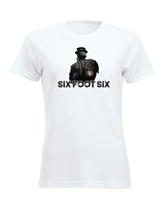 "Vit Dam T-shirt Classic ""PESTDOKTOR"""