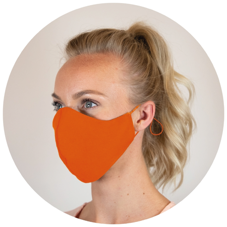 Orange Munskydd