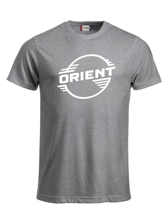 """Grå T-shirt Classic """"ORIENT"""""""