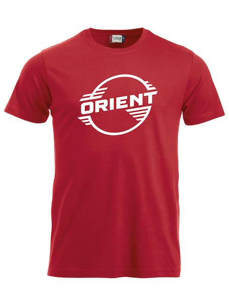 """Röd T-shirt Classic """"ORIENT"""""""